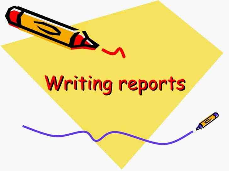 reports writing